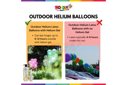 SET Disposable Helium Gas Tank + Helium Gel