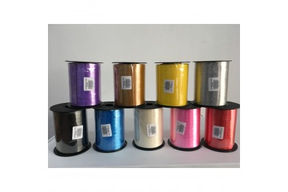 Colour Curling Balloon Ribbon Roll (5mm x 500yd) [Standard Colours]