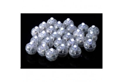 Round Mini Flash LED Balloon Balls (10pcs)